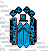 DVO Diamond 2018-19 Fork Decals